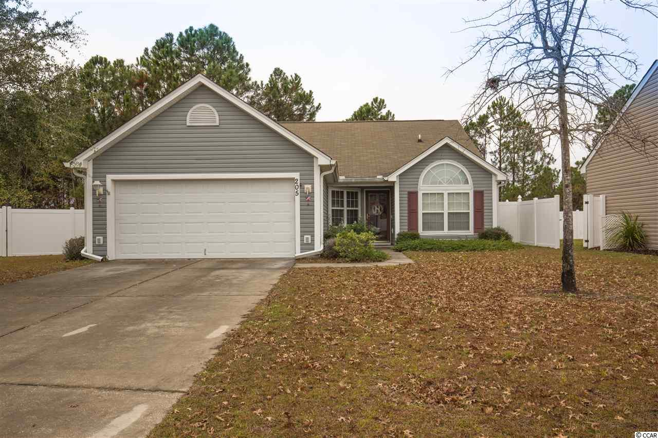Detached MLS:1725167   205 Bittersweet Ln. Myrtle Beach SC