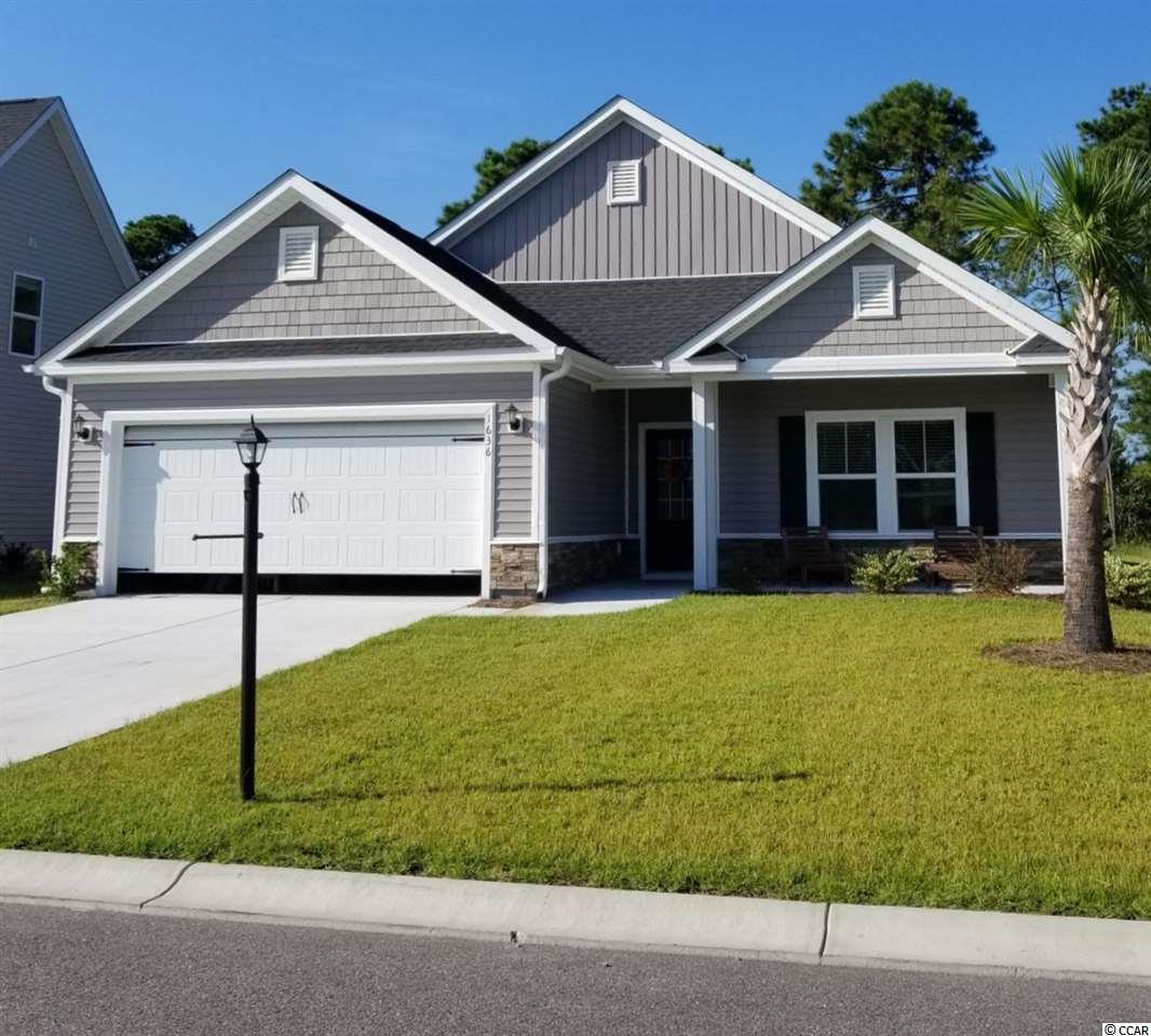 Detached MLS:1725635   1636 Palmetto Palm Drive Myrtle Beach SC