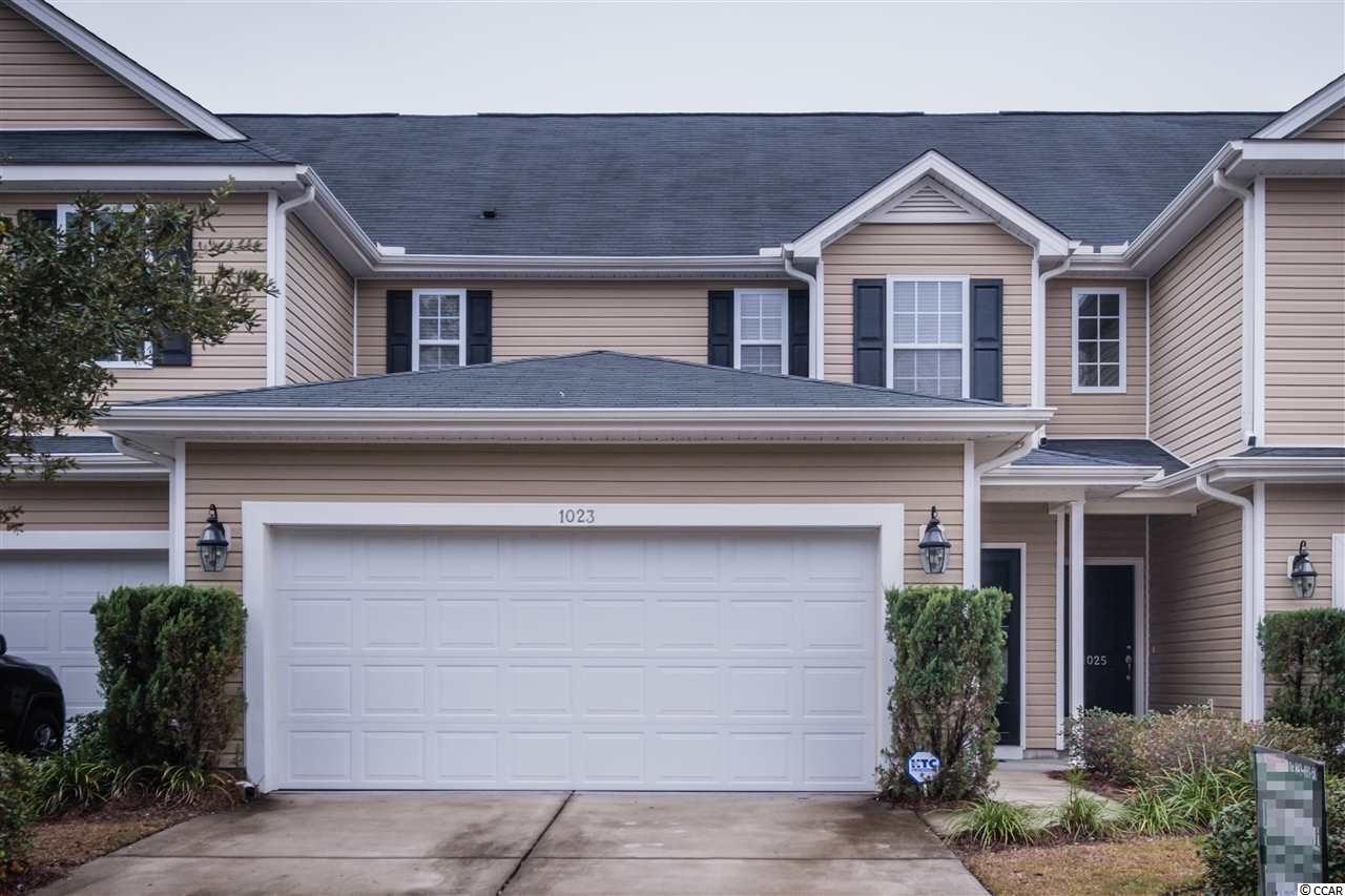 Townhouse MLS:1725682 Fairways at Wild Wing  1023 Fairway Lane Conway SC