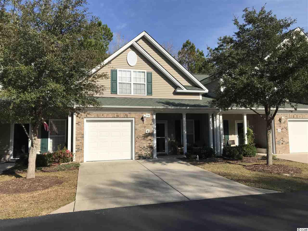 Townhouse MLS:1725837 Park West - Murrells Inlet  741-C Painted Bunting Murrells Inlet SC
