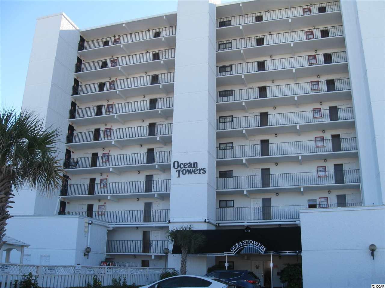 Condo MLS:1725874 OCEAN TOWERS  4311 S Ocean Blvd. North Myrtle Beach SC