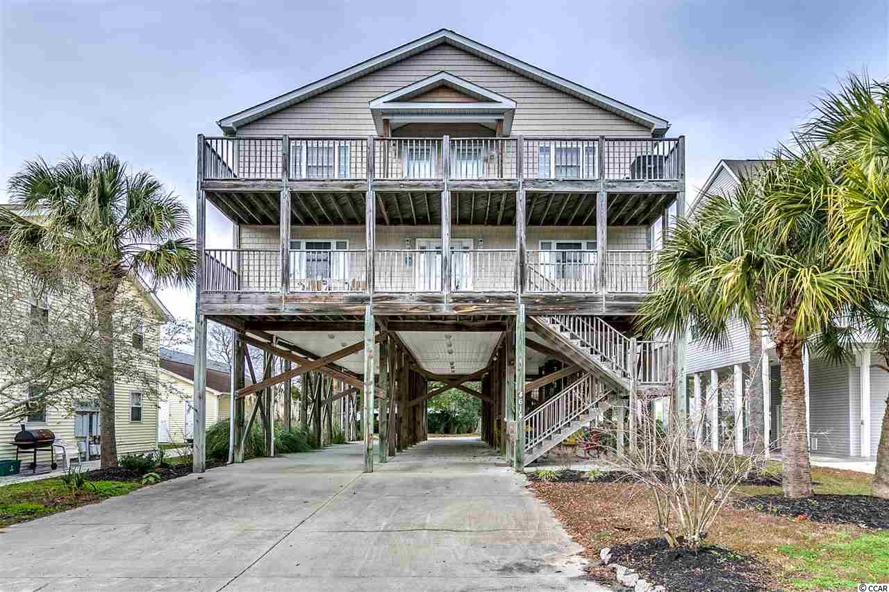 DETACHED WITH HPR MLS:1726284   4614 Surf Street North Myrtle Beach SC