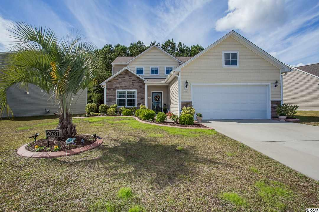 Detached MLS:1726587   2637 Great Scott Drive Myrtle Beach SC