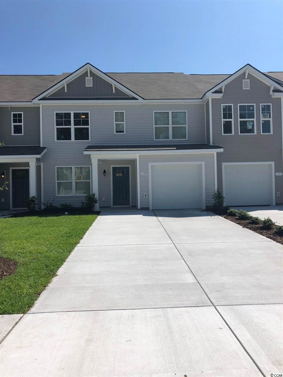 Townhouse MLS:1800024 Fairways at Wild Wing  1109 Fairway Ln. Conway SC