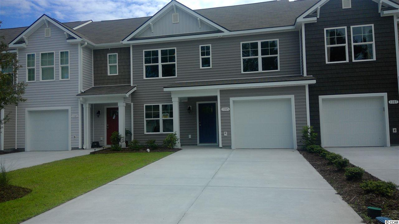 Townhouse MLS:1800026 Fairways at Wild Wing  1105 Fairways Ln Conway SC