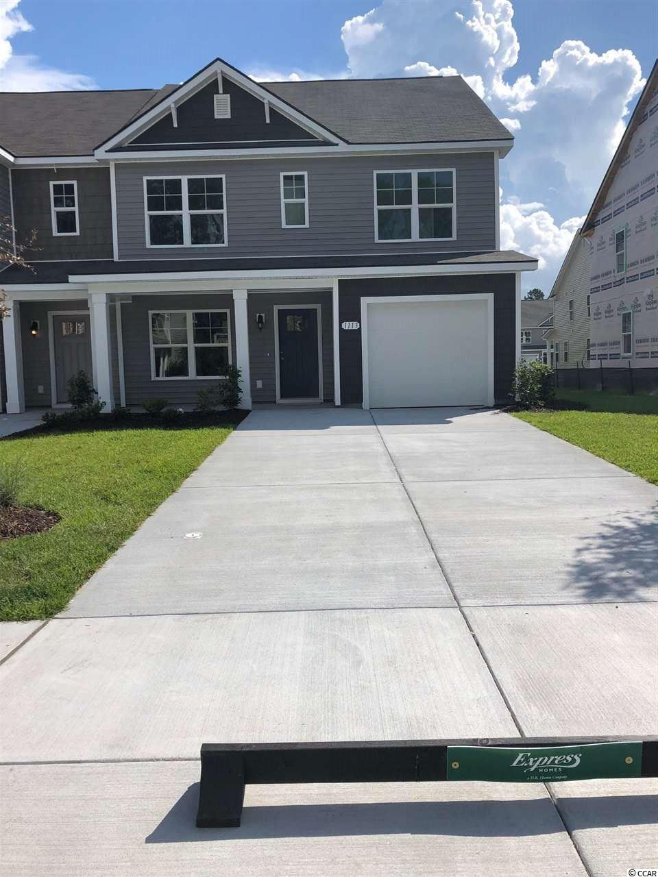Townhouse MLS:1800027 Fairways at Wild Wing  1113 Fairway Lane Conway SC