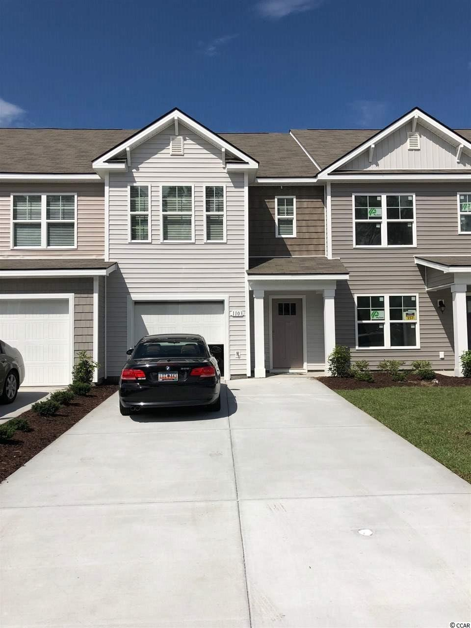 Townhouse MLS:1800029 Fairways at Wild Wing  1103 Fairway Lane Conway SC
