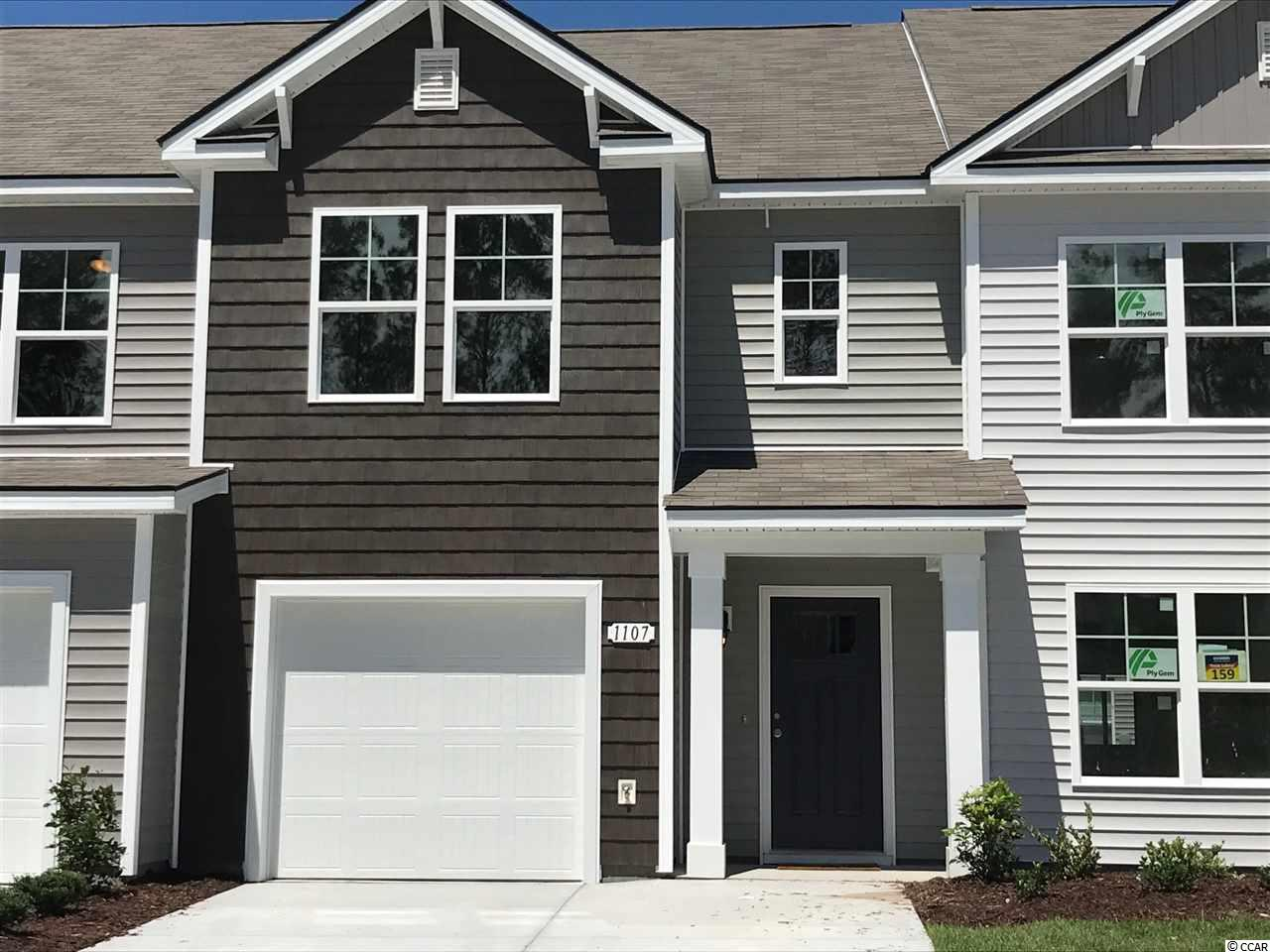Townhouse MLS:1800032 Fairways at Wild Wing  1107 Fairway Lane Conway SC