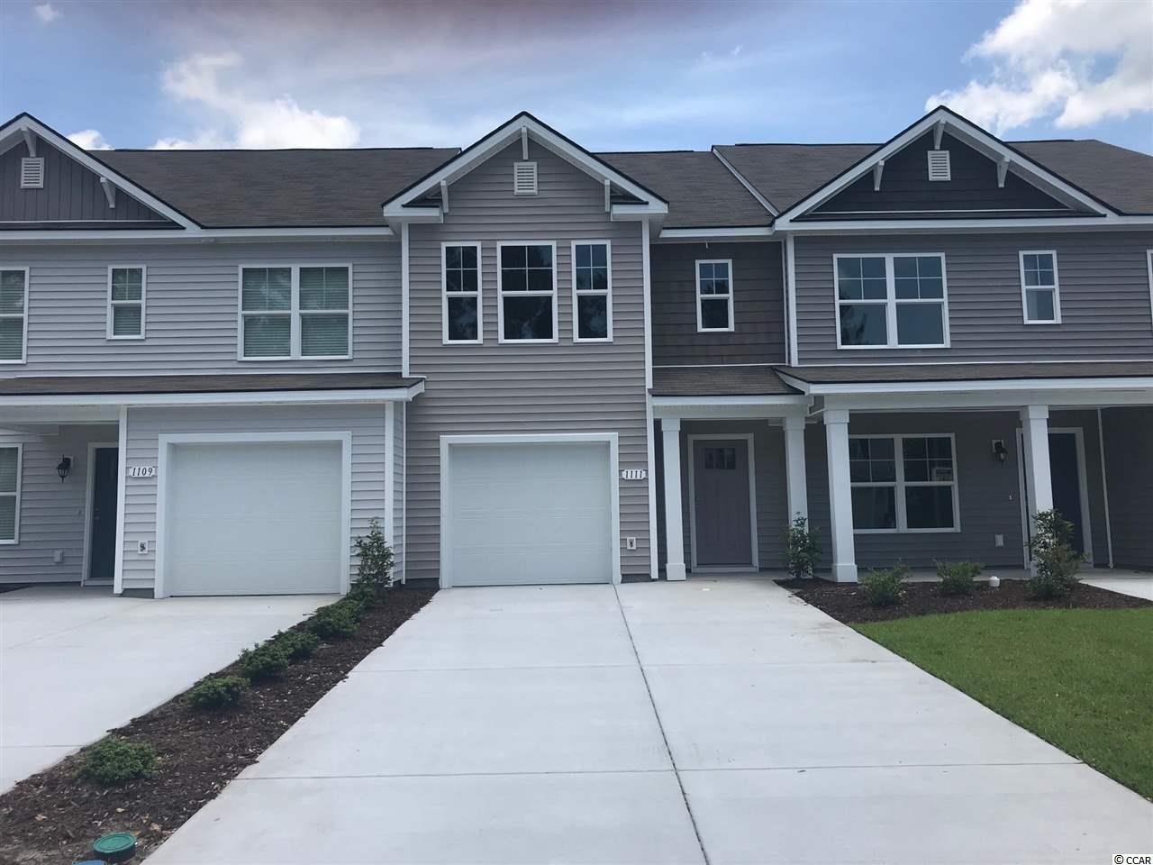 Townhouse MLS:1800035 Fairways at Wild Wing  1111 Fairway Lane Conway SC