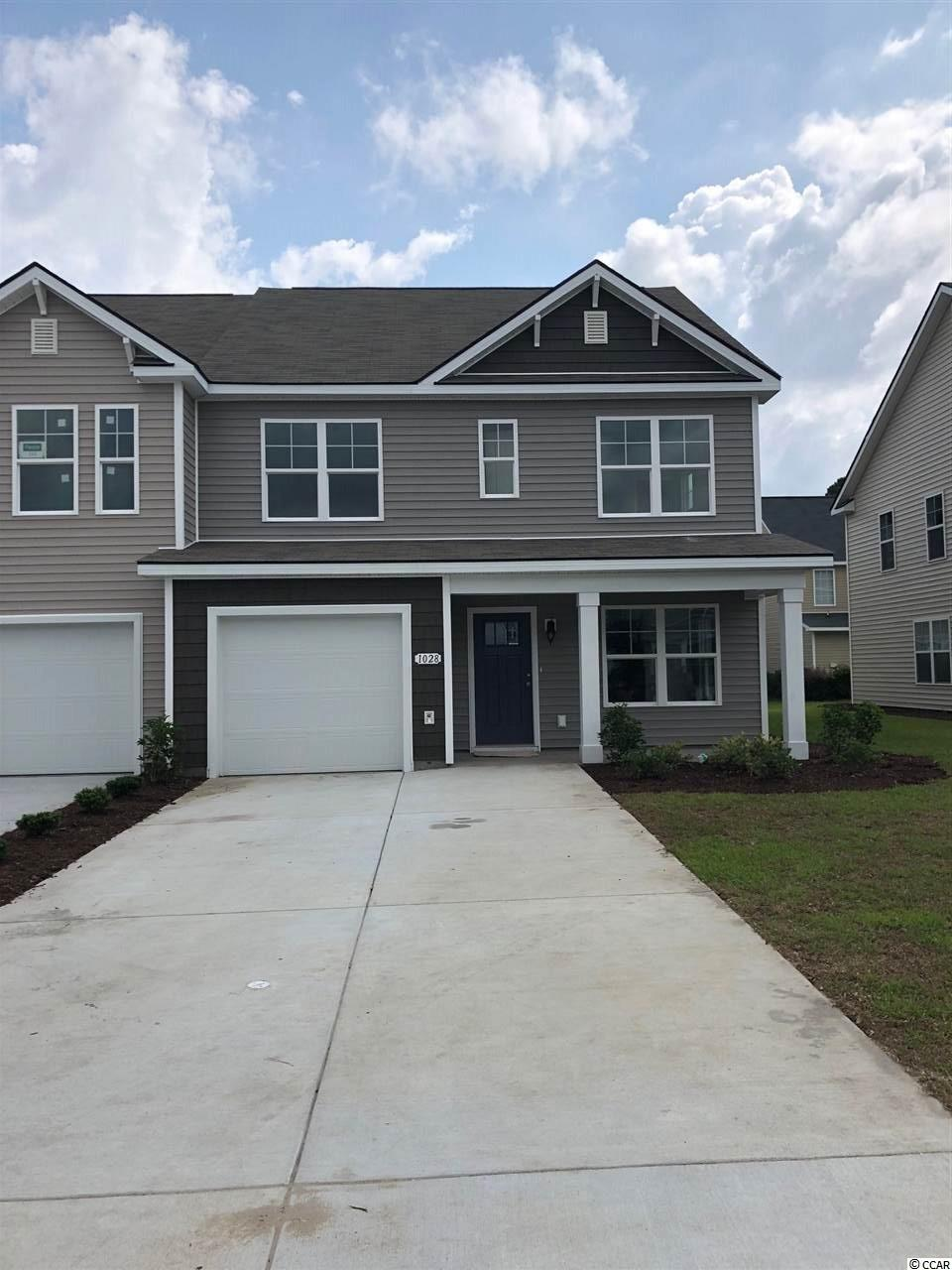 Townhouse MLS:1800049 Fairways at Wild Wing  1028 Tee Shot Drive Conway SC