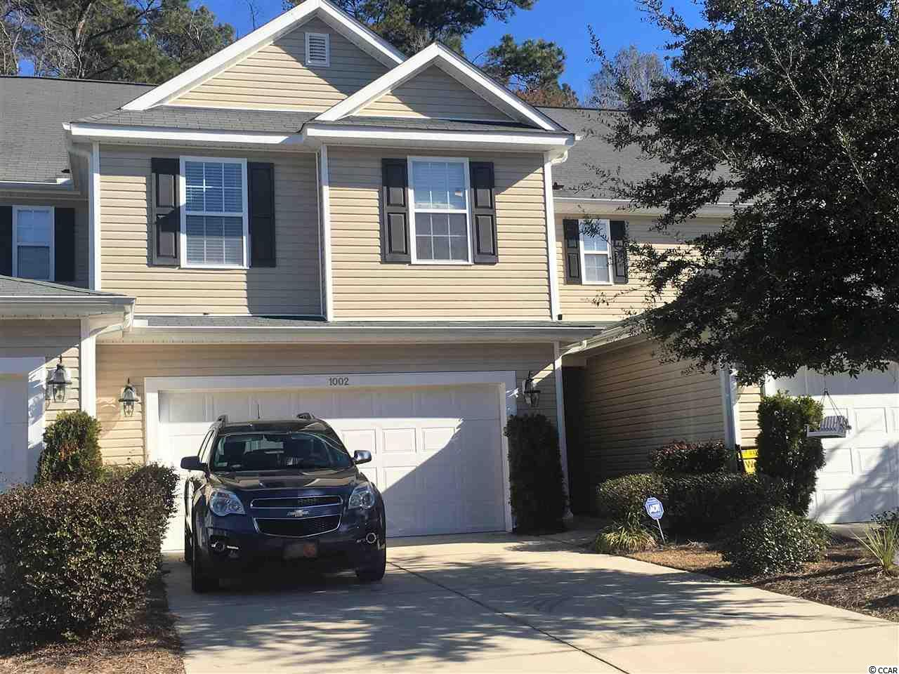Townhouse MLS:1800367 Fairways at Wild Wing  1002 Fairway Lane Conway SC