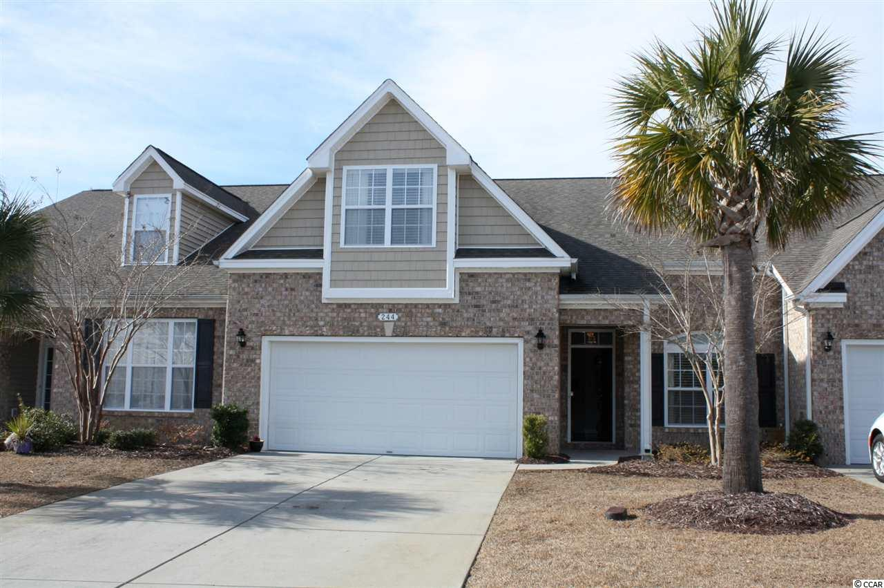 Townhouse MLS:1800509 Tuscany - Carolina Forest Area -  244 VIAREGGIO ROAD Myrtle Beach SC