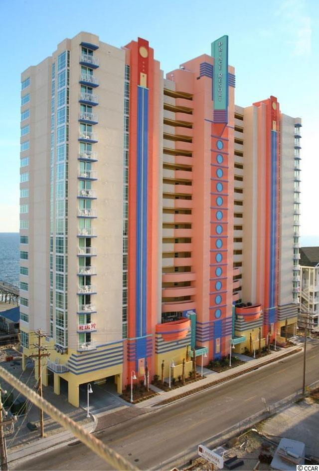 Ocean View Condo in Prince Resort - Phase II - Cherr : North Myrtle Beach South Carolina