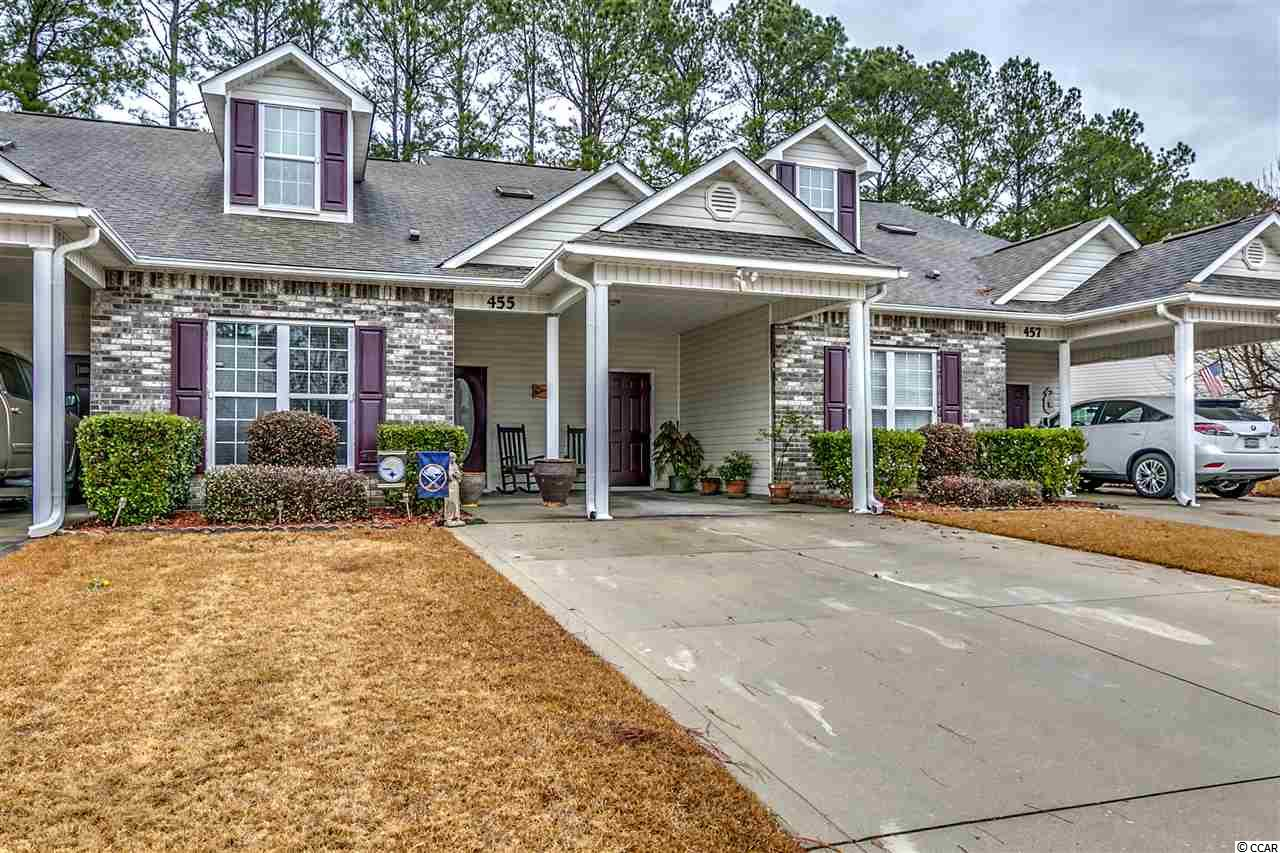 Townhouse MLS:1800888 Colonial Trace  455 Colonial Trace Dr. Longs SC