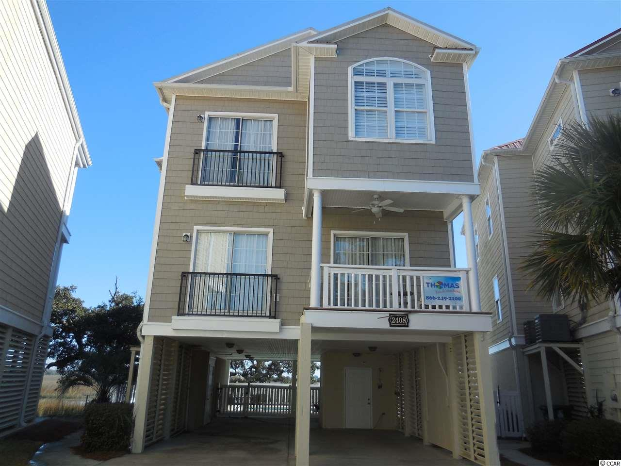 Detached MLS:1800937   2408 Pointe Marsh Lane North Myrtle Beach SC