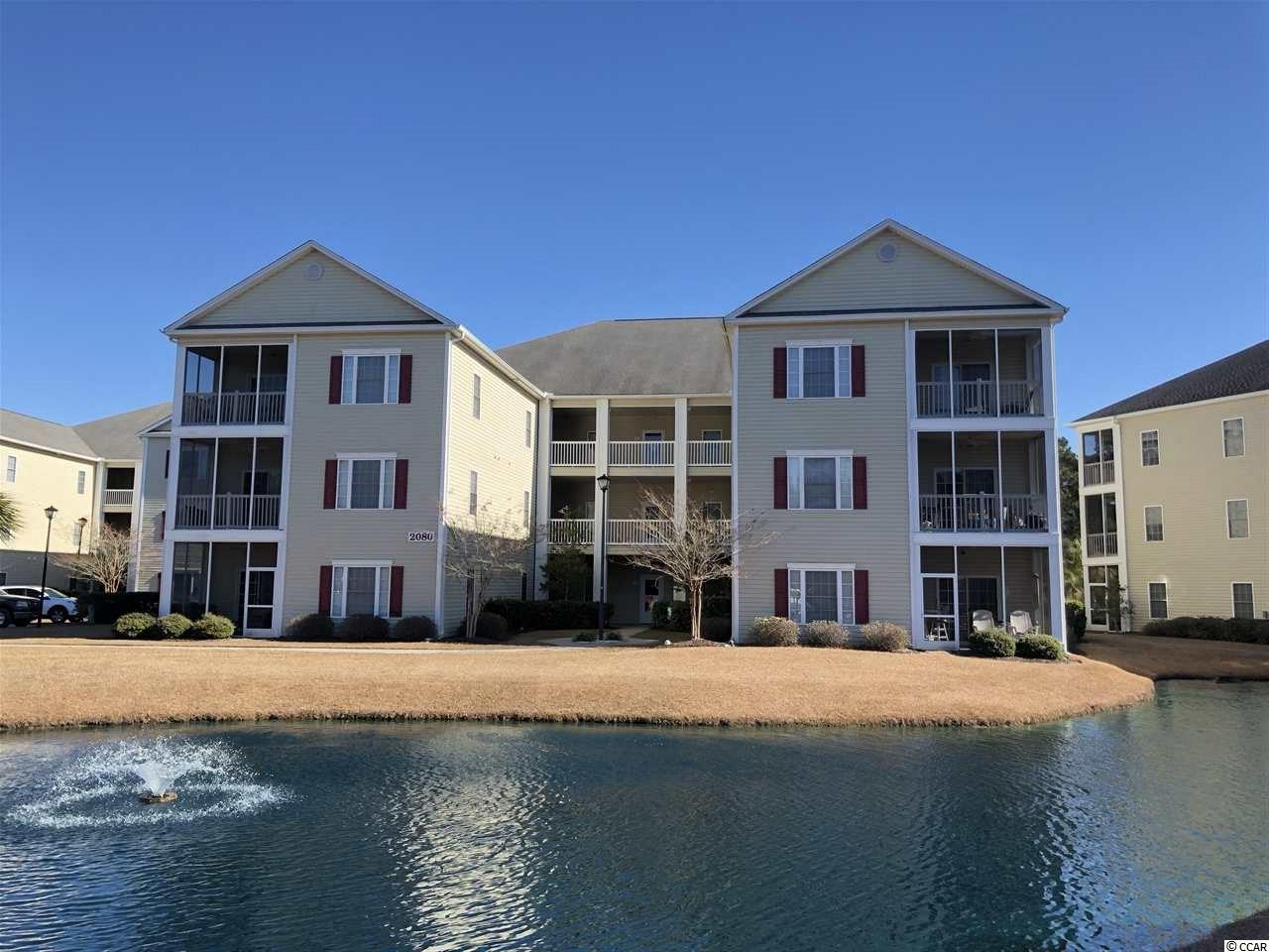 Lake/Pond View,End Unit Condo in Maddington Place : Myrtle Beach South Carolina