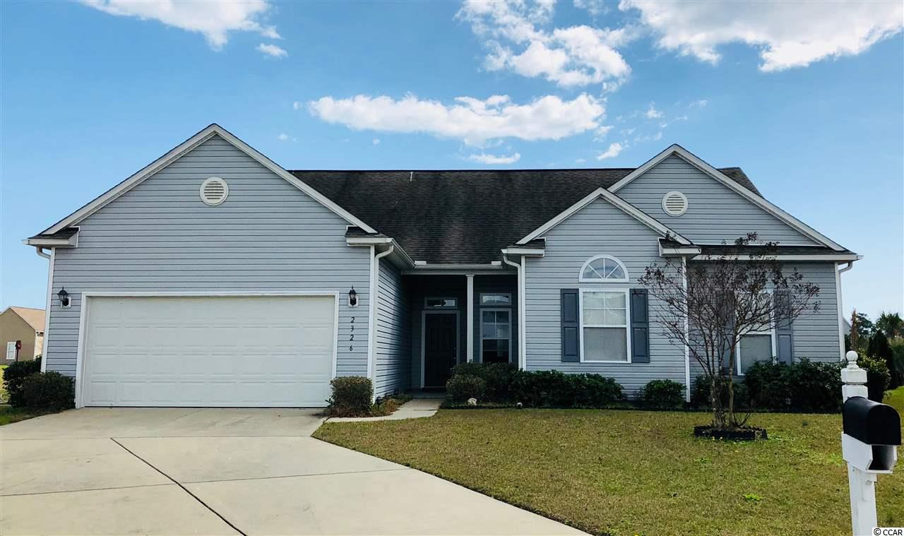 Detached MLS:1801290   2326 Ordsall Court Myrtle Beach SC