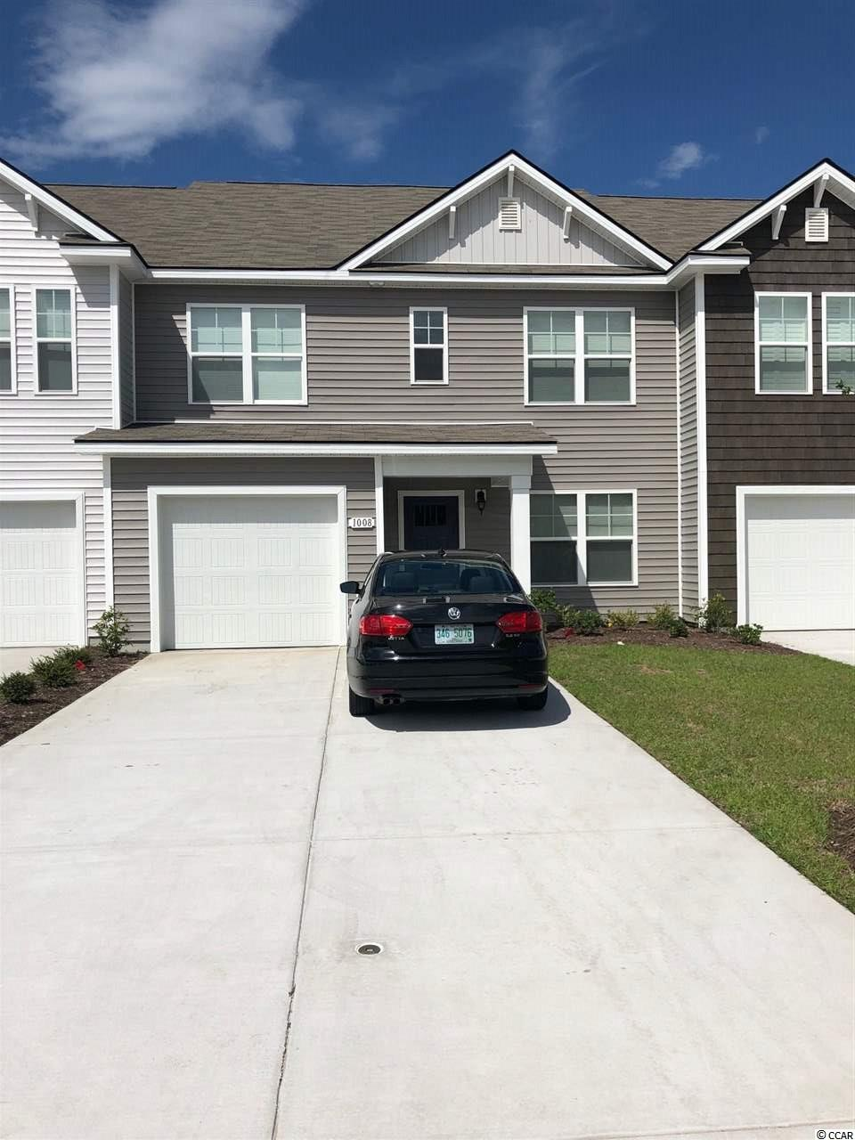 Townhouse MLS:1801629 Fairways at Wild Wing  1008 Tee Shot Drive Conway SC