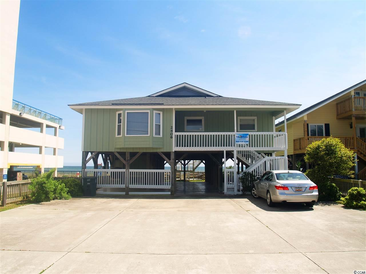 Detached MLS:1801731   2406 N Ocean Blvd. North Myrtle Beach SC