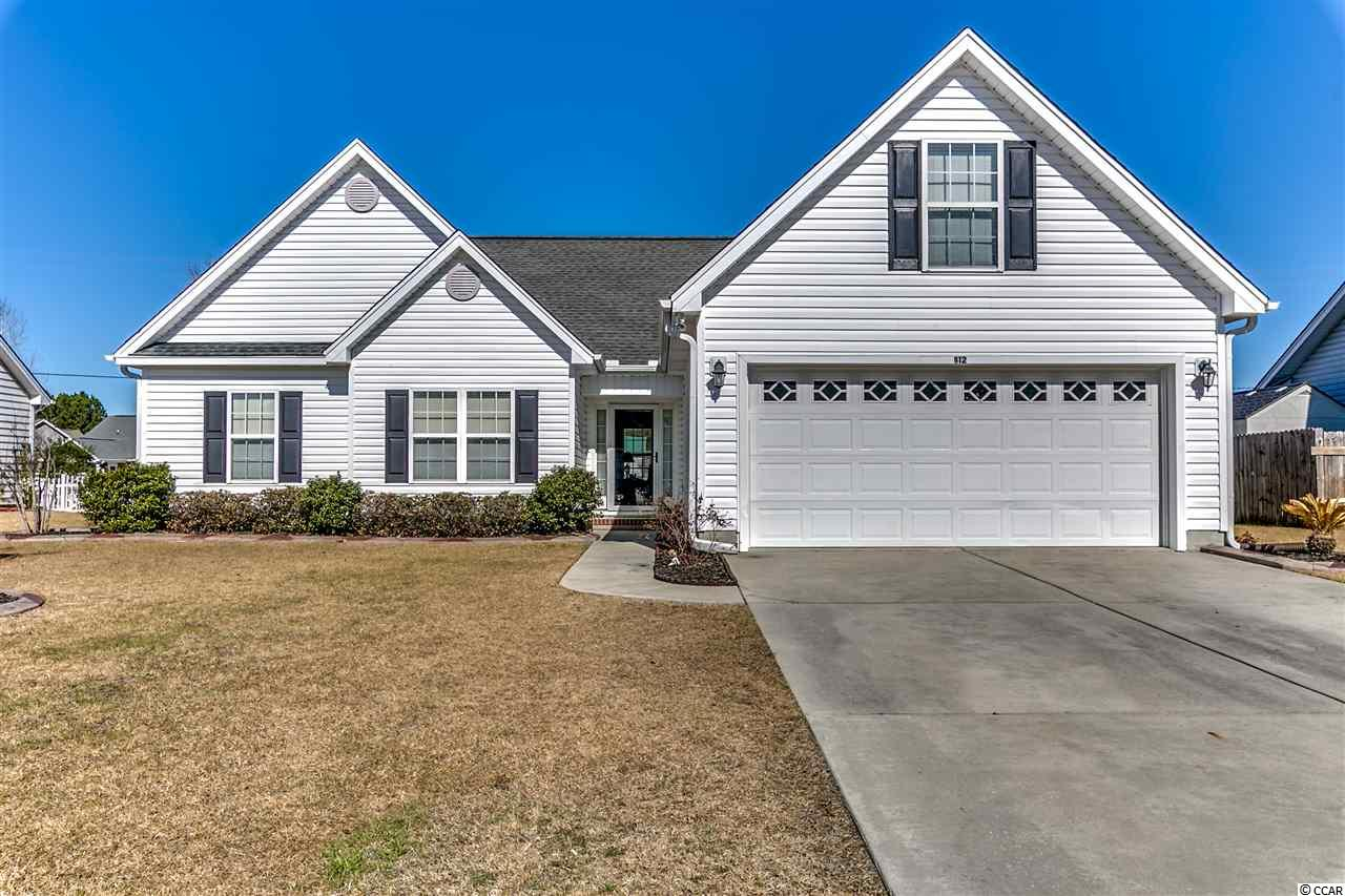 Single Family Home for Sale at 912 Eaglet Circle 912 Eaglet Circle Conway, South Carolina 29527 United States
