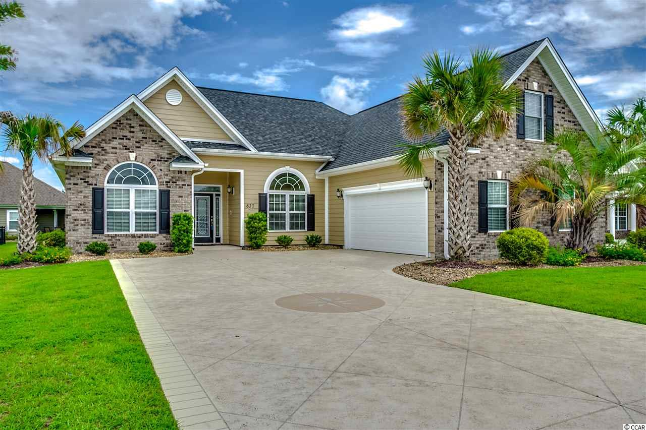 Detached MLS:1802666   837 Sandbinder Drive Myrtle Beach SC