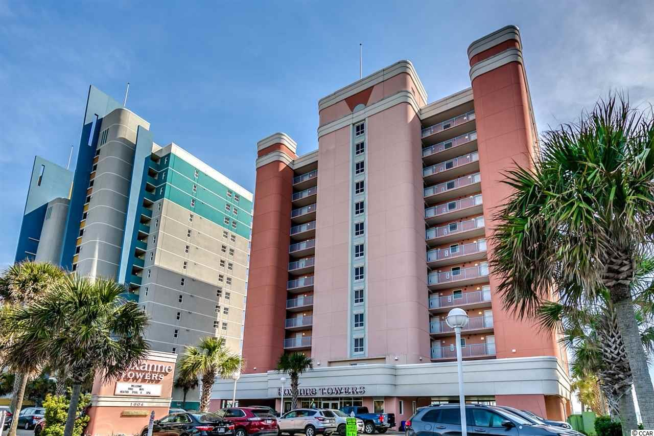 Condo MLS:1802881 ROXANNE TOWERS  1604 N Ocean Blvd. Myrtle Beach SC