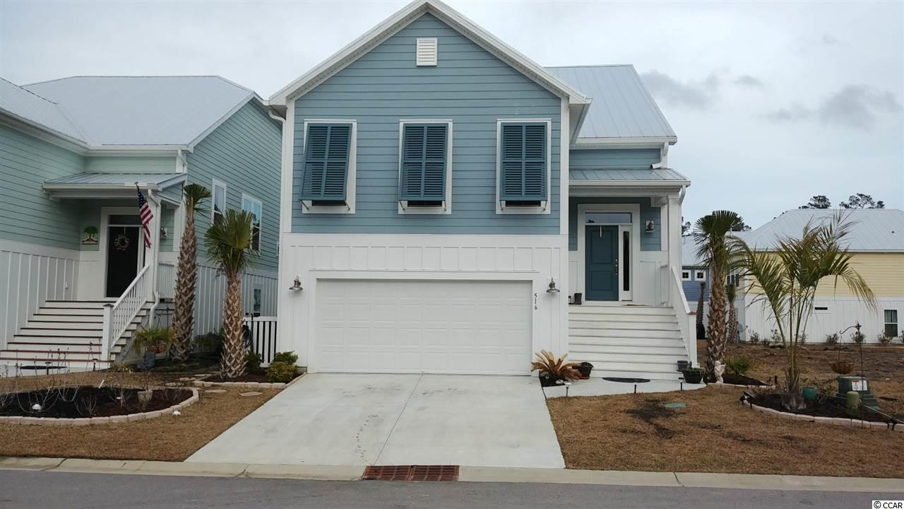 Single Family Home for Sale at 516 Chanted Drive 516 Chanted Drive Murrells Inlet, South Carolina 29576 United States