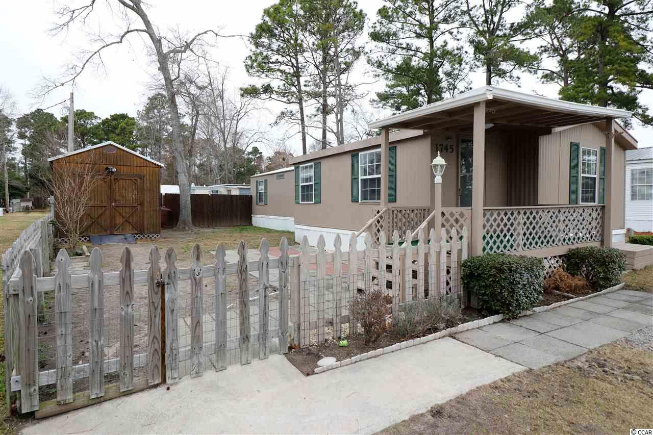 Manufactured Leased Land MLS:1803137   1745 Crystal Lakes Dr Myrtle Beach SC