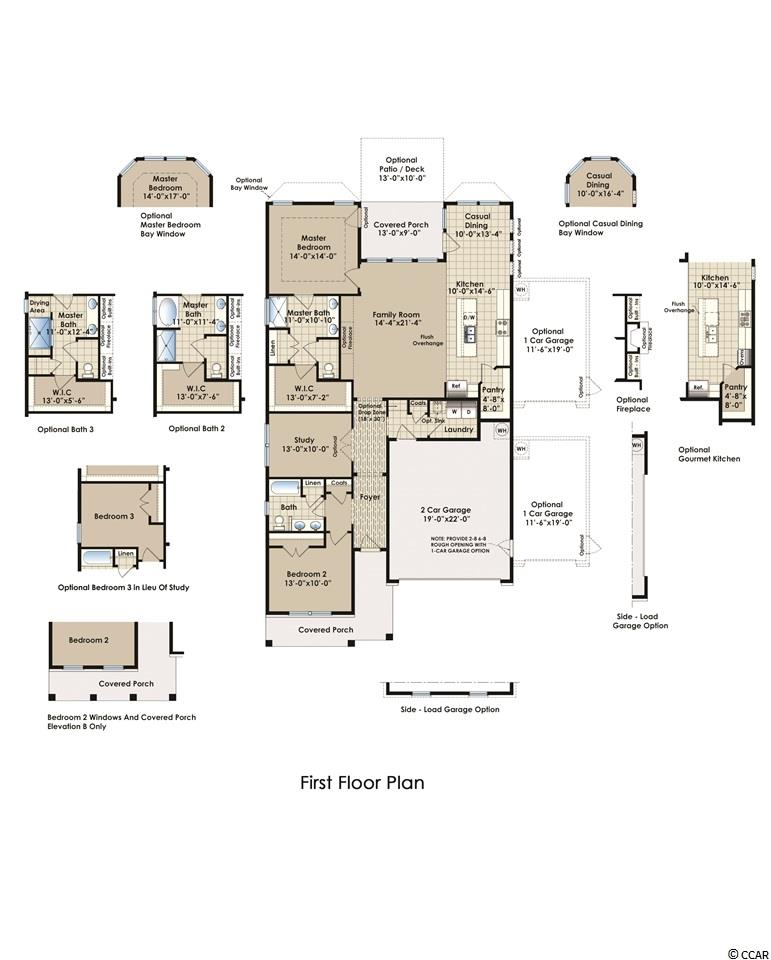 Contact your Realtor for this 2 bedroom house for sale at  Carolina Forest-The Farm-Brookbe
