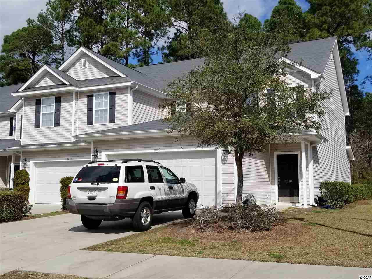 Townhouse MLS:1803818 Fairways at Wild Wing  1010 Fairway Ln. Conway SC