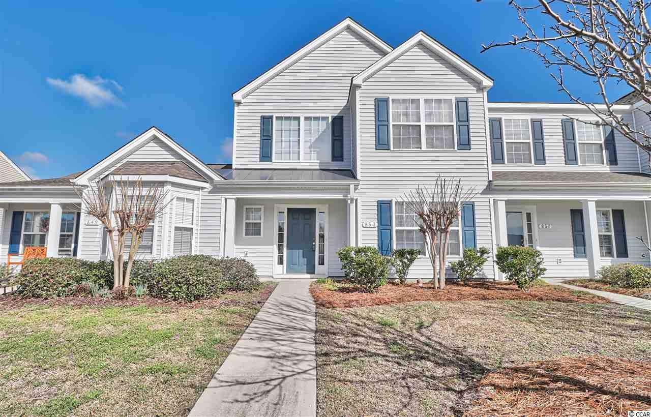 Townhouse MLS:1803886 The Orchards at The Farm  853 Barn Owl Court Myrtle Beach SC