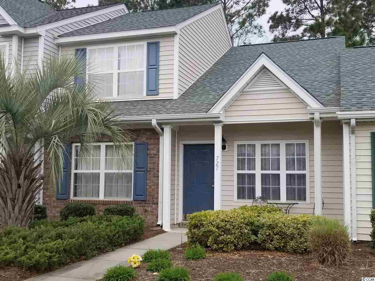 Townhouse MLS:1804800 WYNBROOKE TWNHM - Townhomes  727 Wilshire Ln. Murrells Inlet SC