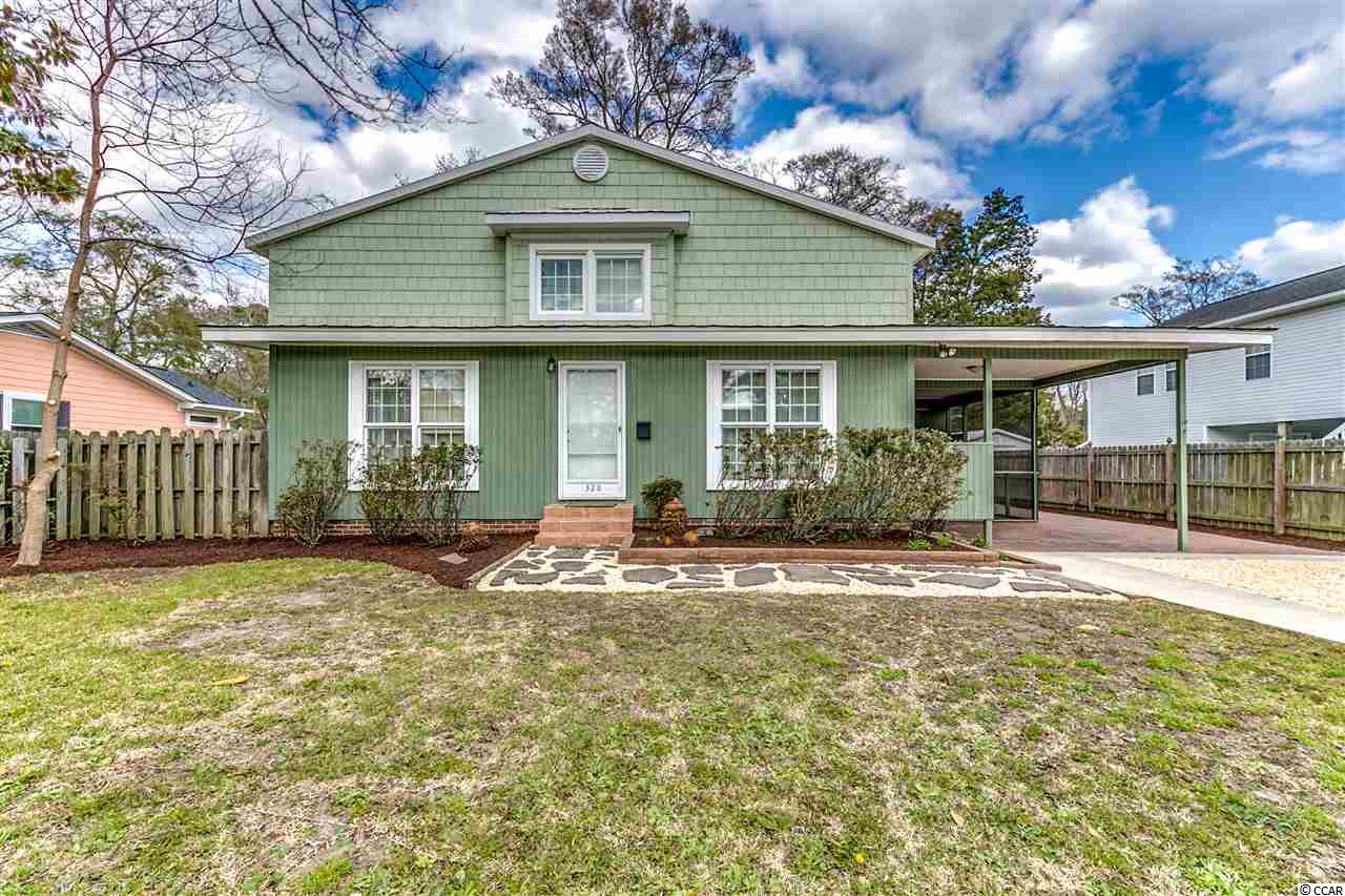 Single Family Home for Sale at 328 S 16th Avenue South 328 S 16th Avenue South Surfside Beach, South Carolina 29575 United States