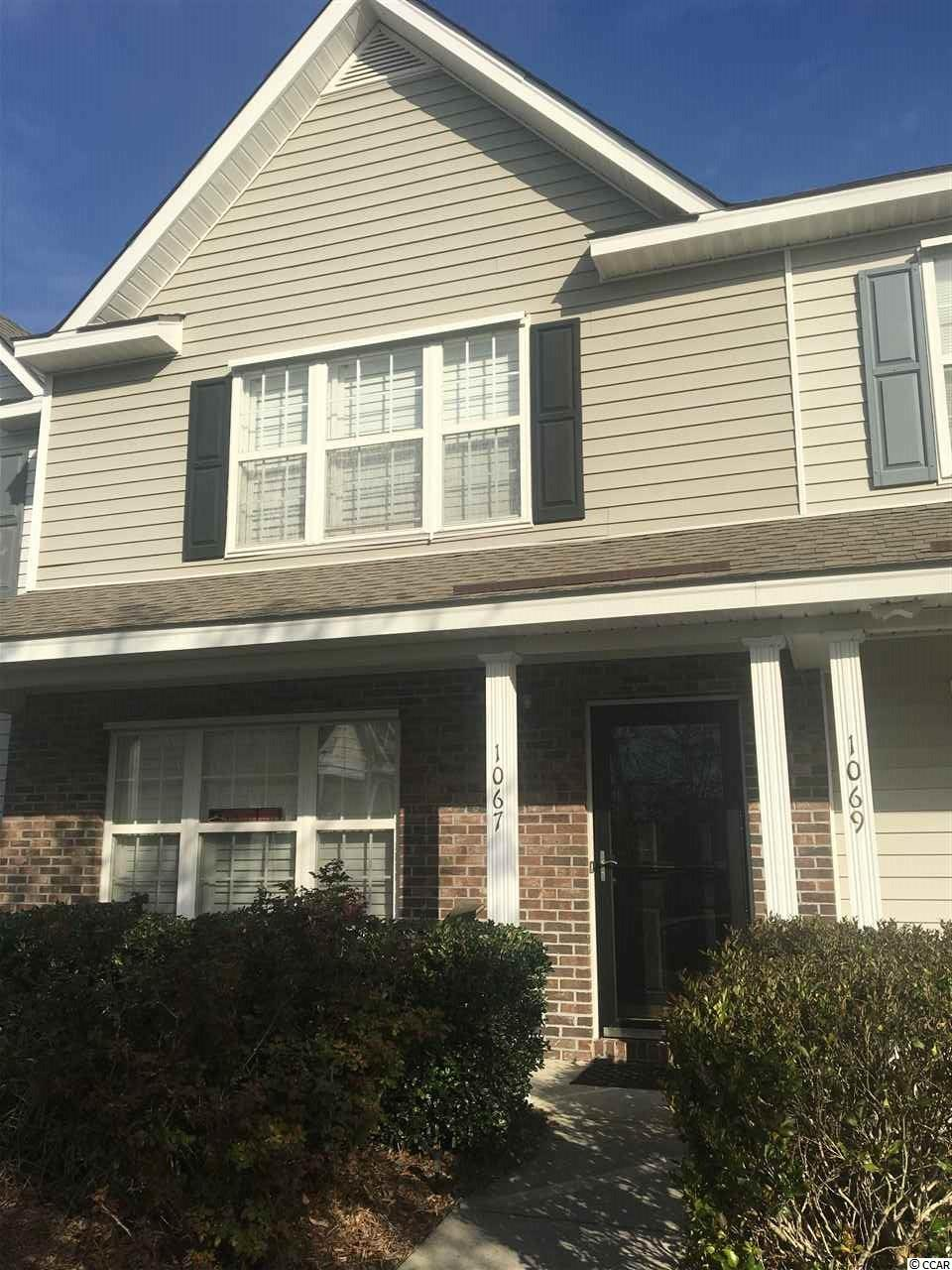Townhouse MLS:1805217 PARKVIEW SUBDIVISION - 17TH AVE.  1067 Pinnacle lane Myrtle Beach SC