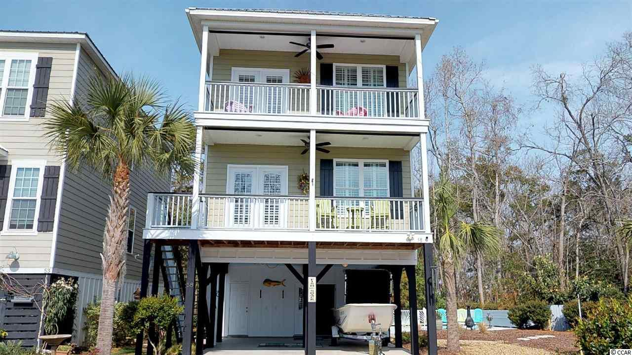 Single Family Home for Sale at 58 Fish Shack Alley 58 Fish Shack Alley Murrells Inlet, South Carolina 29576 United States
