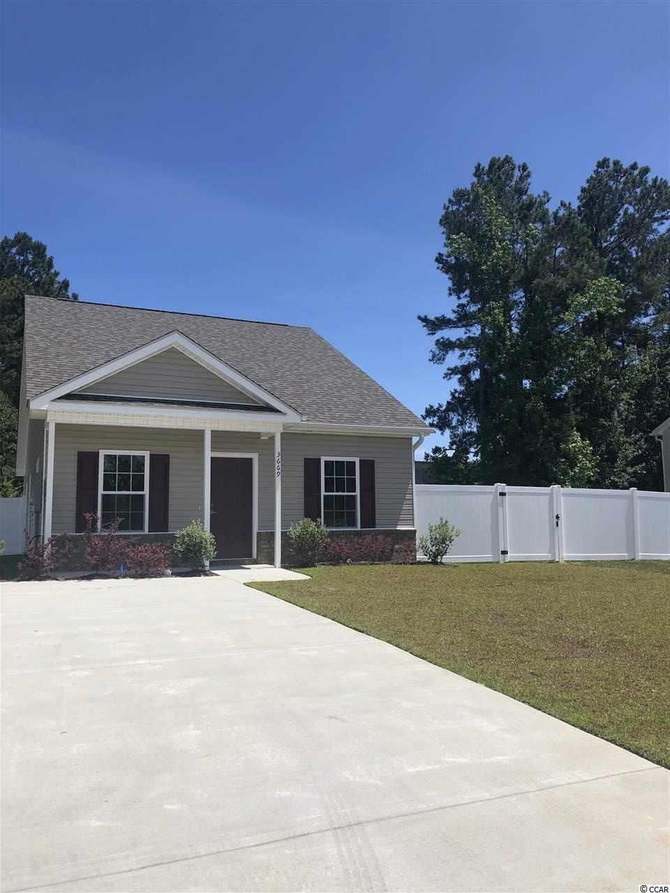 Detached MLS:1805257   3669 Clay Pond Village Ln. Myrtle Beach SC