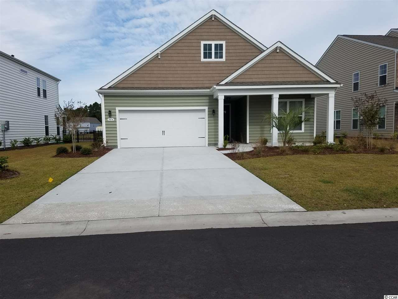 Detached MLS:1805403   5434 Sunset Lake Ln. Myrtle Beach SC