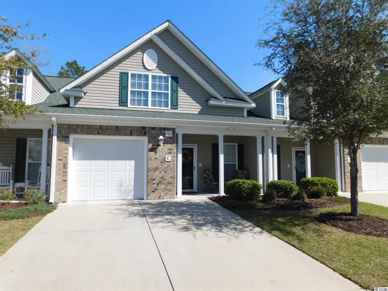 Townhouse MLS:1805632 Park West - Murrells Inlet  783 Painted Bunting Drive Murrells Inlet SC