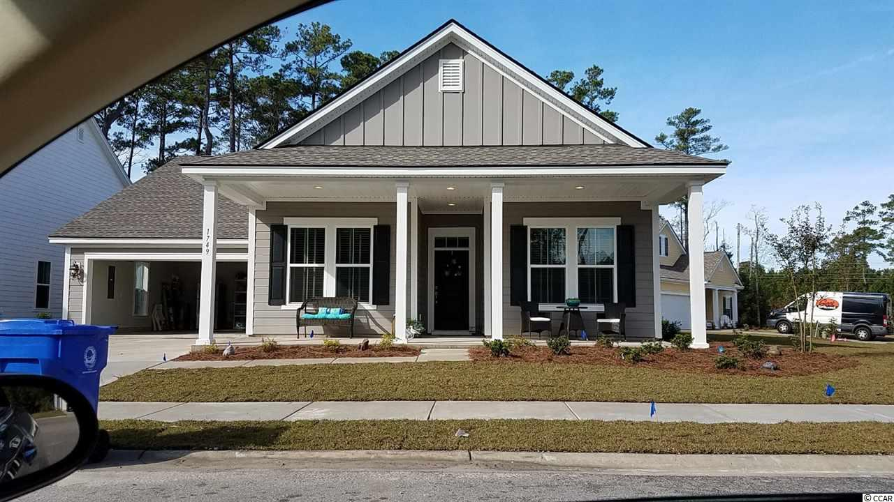 Detached MLS:1805771   1749 Barrister Ln Myrtle Beach SC