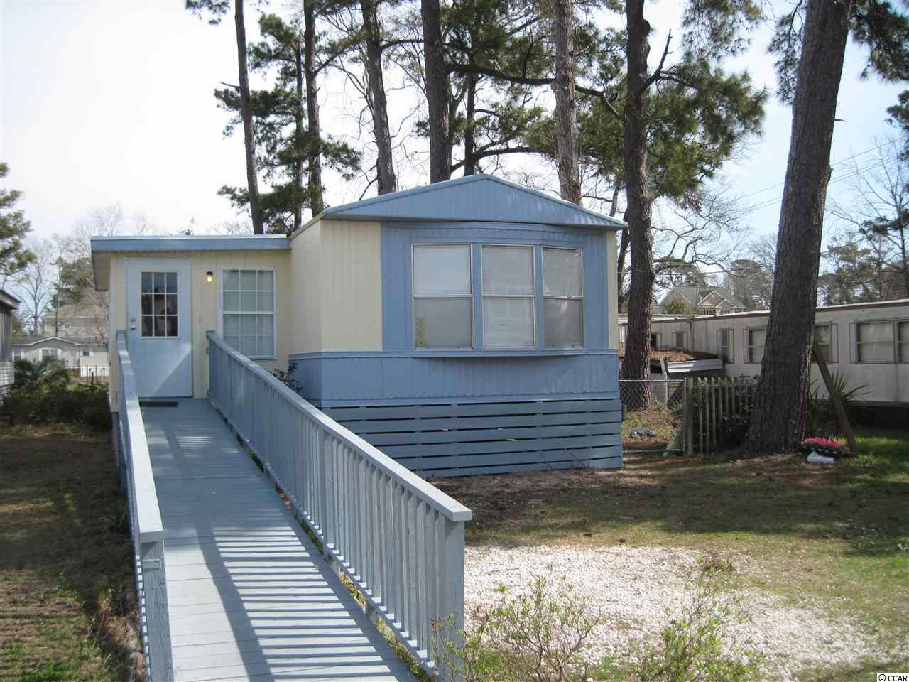 Manufactured Leased Land MLS:1805794   412 Seabreeze Drive Garden City Beach SC