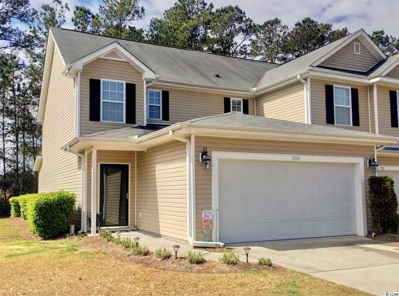Townhouse MLS:1805965 Fairways at Wild Wing  1154 Fairway Ln. Conway SC