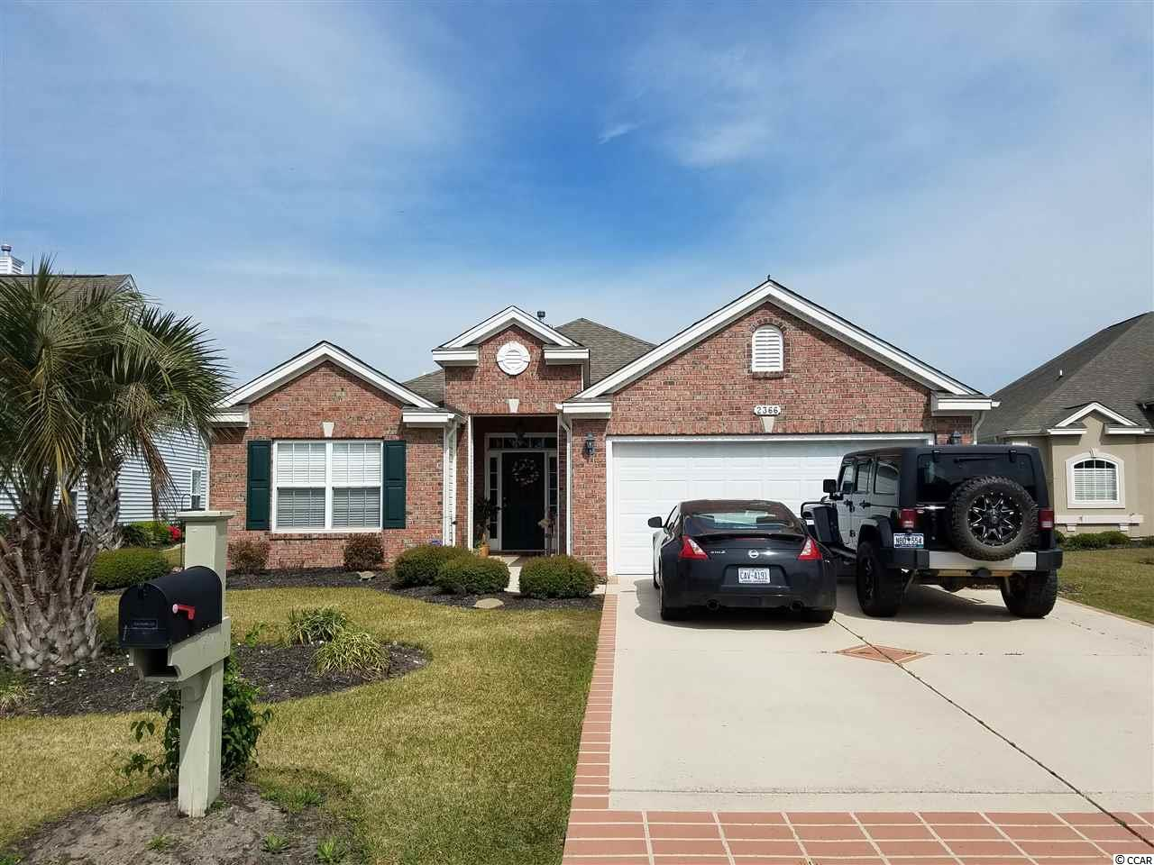 Detached MLS:1807534   2366 Windmill Way Myrtle Beach SC