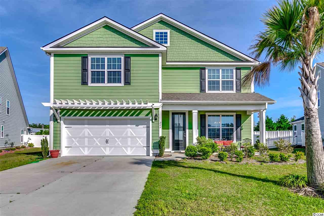Detached MLS:1808258   249 Coral Beach Circle Myrtle Beach SC