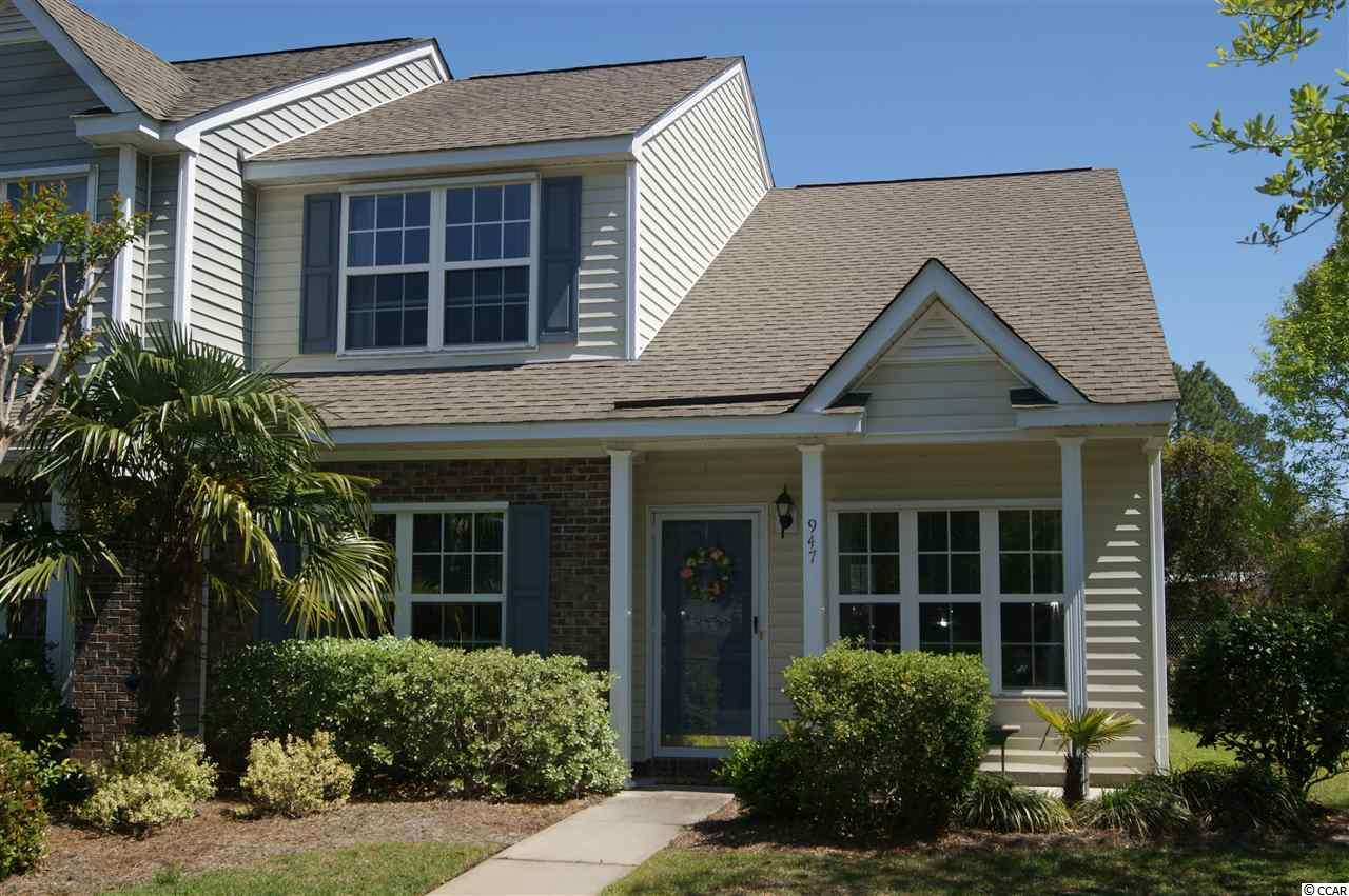 Townhouse MLS:1808288 PARKVIEW SUBDIVISION - 17TH AVE.  947 Pendant Circle Myrtle Beach SC
