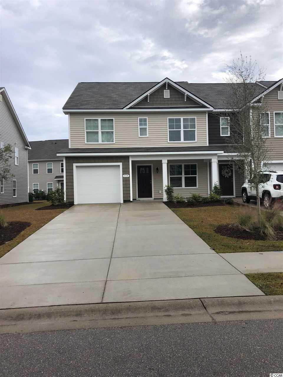 Townhouse MLS:1809206 Fairways at Wild Wing  1115 Fairway Ln. Conway SC