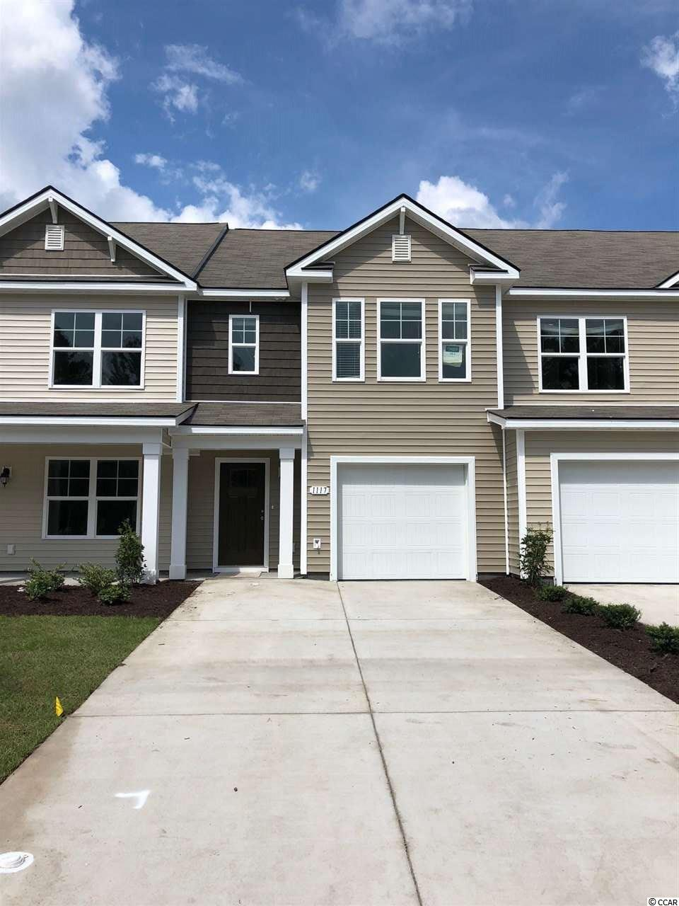 Townhouse MLS:1809207 Fairways at Wild Wing  1117 Fairway Ln. Conway SC