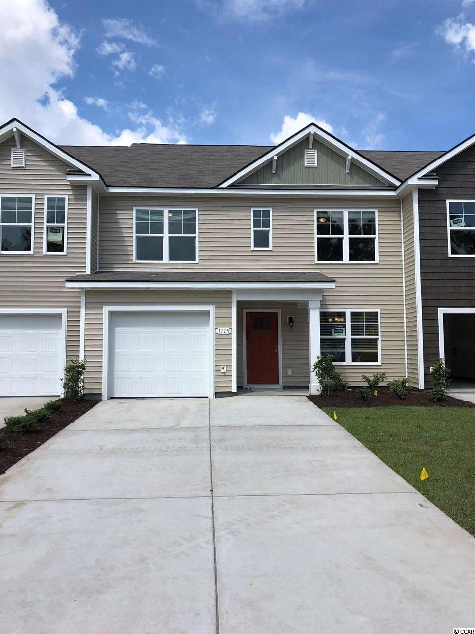 Townhouse MLS:1809210 Fairways at Wild Wing  1119 Fairway Ln. Conway SC