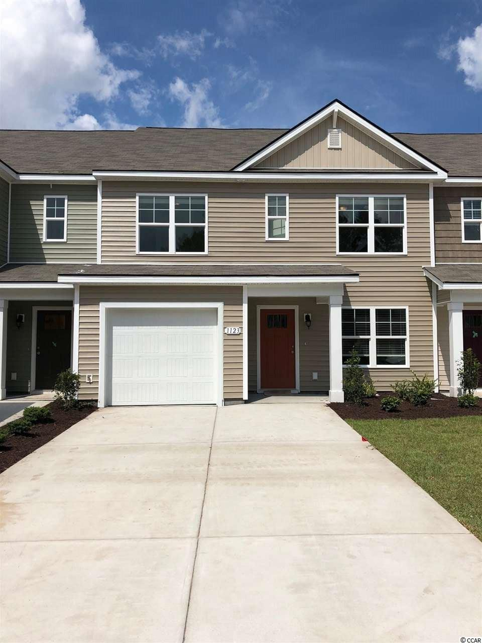 Townhouse MLS:1809212 Fairways at Wild Wing  1123 Fairway Ln. Conway SC
