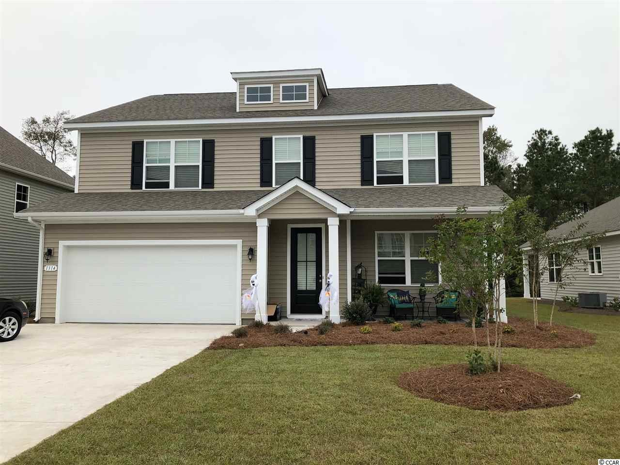 Detached MLS:1809470   1314 Reflection Pond Dr. Little River SC
