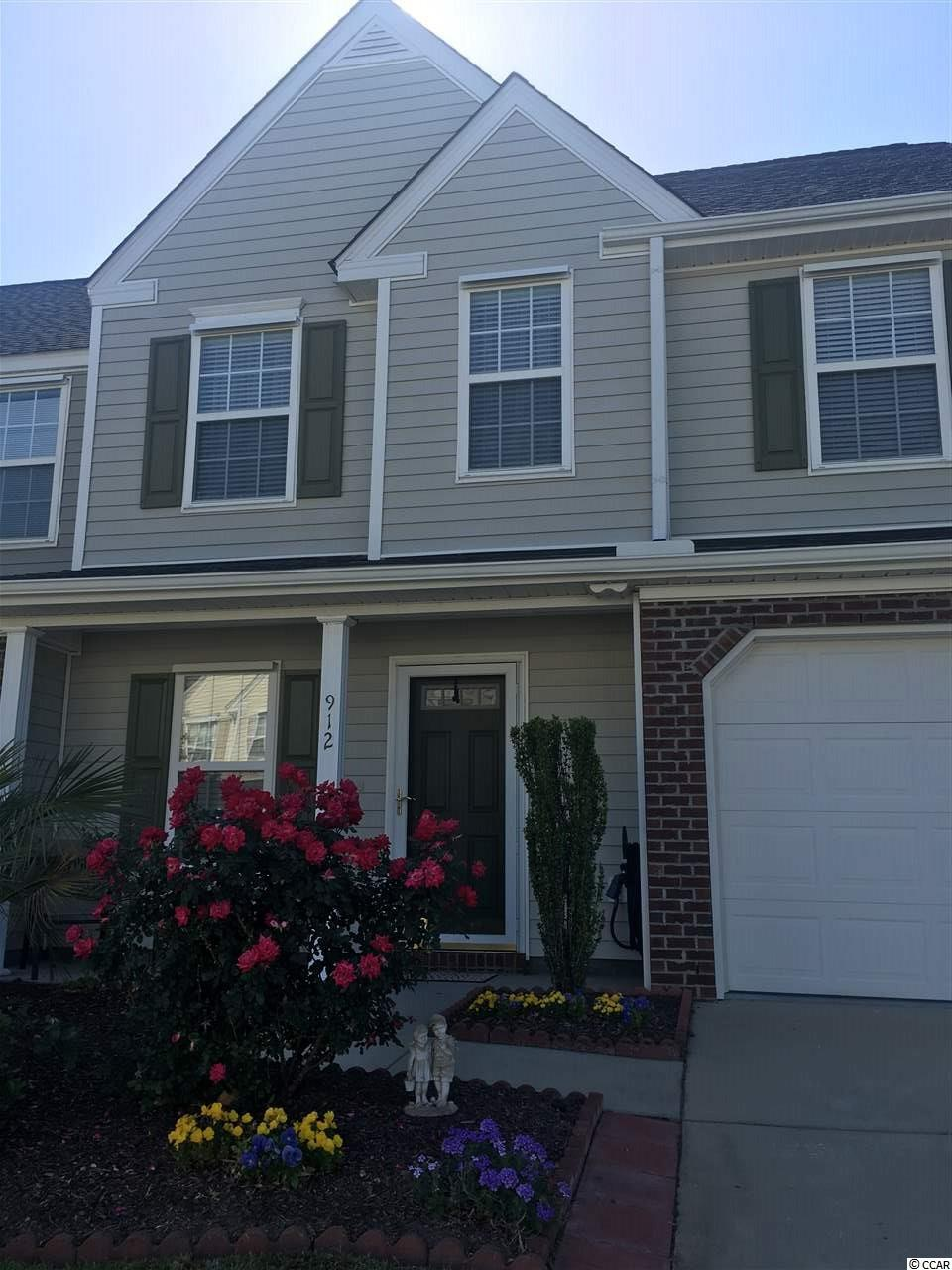 Condo MLS:1809502 WYNBROOKE TWNHM - Townhomes  912 WILLISTON LOOP Murrells Inlet SC